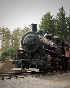 Free Old Steam Locomotive Royalty Free Stock Photo - 13756775