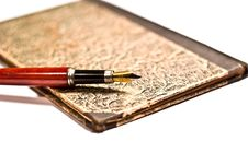 Pen Old Stock Photo