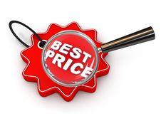 Free Price Tag Stock Image - 13757261