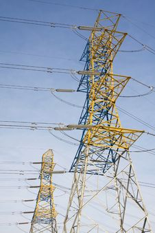 Free Electric Tower Royalty Free Stock Images - 13757349