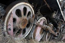 Free Train Wheels Stock Photo - 13757370