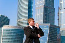 Free Businessman With Cigar Stock Photos - 13758033