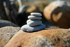 Free Stone Stack. Stock Images - 13758724