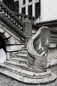 Free Old Stair Stock Photos - 13759233