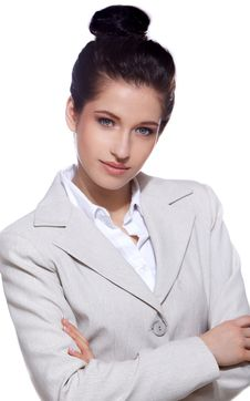 Free Portrait Of Business Woman Royalty Free Stock Photo - 13759235