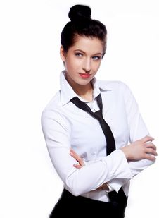 Free Portrait Of Business Woman Royalty Free Stock Photos - 13759238