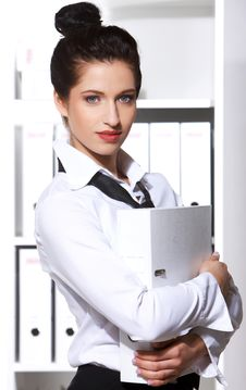 Free Portrait Of Business Woman Stock Image - 13759241
