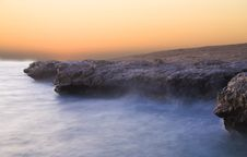 Free Foggy Dawn On The Red Sea Stock Image - 13759561