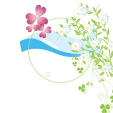 Free Abstract Floral Background Royalty Free Stock Photos - 13759688