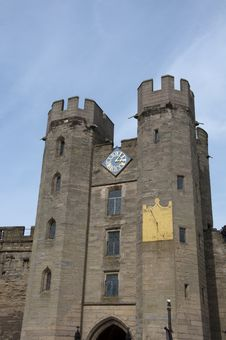 Free Warwick Castle Stock Image - 13760111