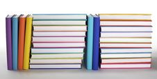 Free Stack Of Colorful Books Royalty Free Stock Photos - 13760398