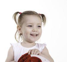 Free Happy Toddler Girl Stock Photos - 13760593