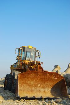 Free Bulldozer Stock Photo - 13760860