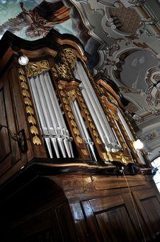 Free Pipe Organ Royalty Free Stock Image - 13761816
