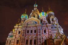 Russia, St. Petersburg, Orthodox Church Royalty Free Stock Photography