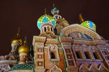 Russia, St. Petersburg, Orthodox Church Royalty Free Stock Photos