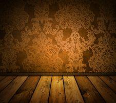 Free Brown Vintage Interior Stock Image - 13763531