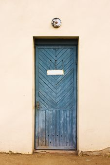 Free Vintage Door Stock Image - 13763621