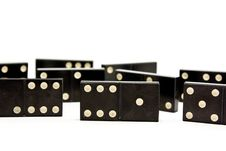 Free Dominoes Royalty Free Stock Image - 13763676
