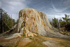 Free Orange Spring Mound - Yellowstone Stock Image - 13763891