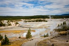 Free Porcelain Basin - Yellowstone Stock Photos - 13764063