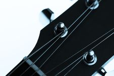 Free Guitar Machine Heads And Strings Stock Photography - 13764172