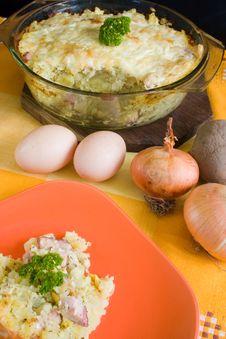 Free Baked Potatoes Stock Photos - 13764433
