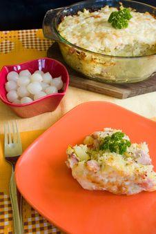 Free Baked Potatoes Stock Photography - 13764482