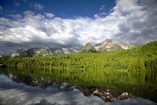 Free Mountain Lake Royalty Free Stock Image - 13764926