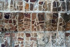 Free Aboriginal Stone Wall Royalty Free Stock Photography - 13765197