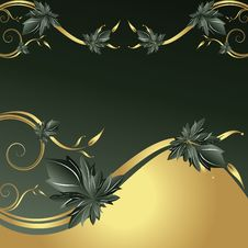 Free Abstract Floral Background Royalty Free Stock Photo - 13765305