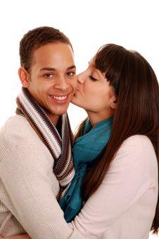 Free Couple Kissing Stock Photos - 13765363