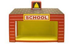 Free Yellow School House Stock Photos - 13766093