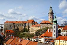 Free Cesky Krumlov Royalty Free Stock Photo - 13766095