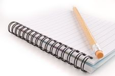 Free Pencil And Notebook Stock Photos - 13766303