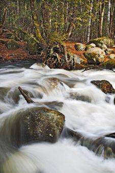 Free Cascade Cap Tourmente Royalty Free Stock Photos - 13767278