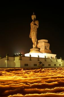 Free The Buddha On Fire I Stock Image - 13767301