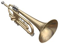 Free Trumpet Royalty Free Stock Photo - 13767675
