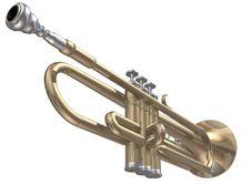 Free Trumpet Stock Photo - 13767720