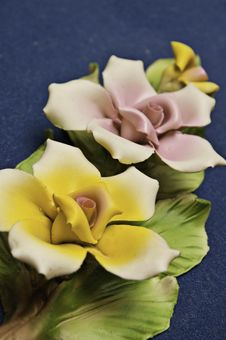 Free Un Detalle  Unas Flores De Cerámica Stock Photos - 13768313