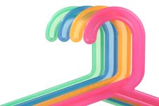 Free Colored Hangers Stock Images - 13768454
