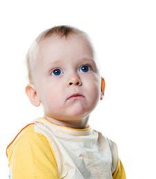 Free Cute Little Boy Close-up Stock Photo - 13768750