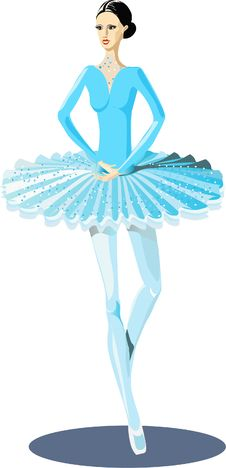 Free Ballerina Stock Photo - 13768800