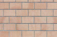 Free Modern Brick Wall Royalty Free Stock Photo - 13768865