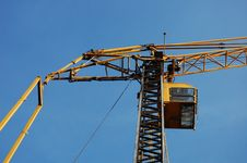 Free Yellow Construction Crane Stock Photo - 13769130