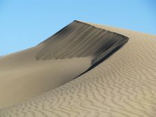 Dry Dune Royalty Free Stock Photography