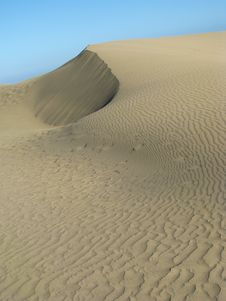 Dry Dune Royalty Free Stock Images