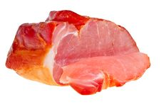 Free Smoked Bacon Closeup. Stock Photo - 13769840