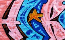 Free Segment Of Graffiti Royalty Free Stock Image - 13769876