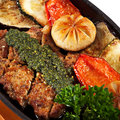 Free Japanese Cuisine - Pork With Vegetables Stock Photography - 13779492